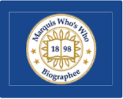 Marquis Who's Who Biographee